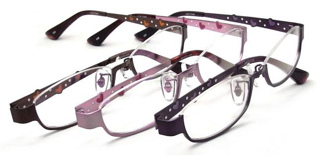 メガネ激安通販のニコニコメガネ サイドのカワイイメガネセット POP CORN
